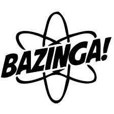 теория большого взрыва Бугагашеньки смешной novely стикер графический виниловая этикетка автомобиля стены