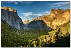 Yosemite National Park – Valley View