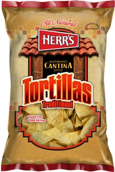 Herrs Products - Authentic Cantina Style Tortilla Chips