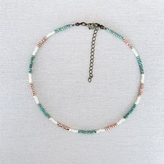 Beaded Anklets, Beaded Choker Necklace, Cute Necklace, Seed Bead Necklace, Seed Bead Jewelry, Cute Jewelry, Beaded Jewelry, Beaded Bracelets, Jewelry Necklaces
