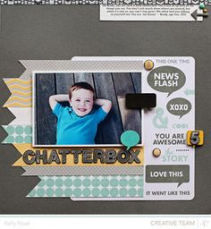 Chatterbox *Snippets Collection* by Kelly Noel at Studio Calico