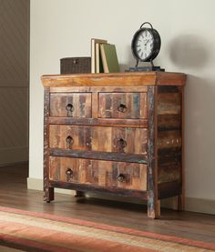 Roberts Collection 950366 Accent Cabinet with reclaimed wood