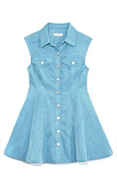 Opening Ceremony Polly Moire Jean Dress
