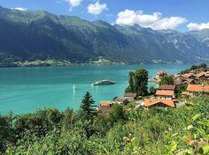 Beautiful lake Brienz
