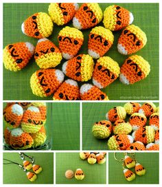 Amigurumi Candy Corn by pocket-sushi on DeviantArt