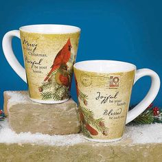 In search of unique gifts? When you need a little something but you're not sure what to get, a festive mug is always a great choice. This cute design and sweet message stand out as the perfect companion to coffee on Christmas morning! Microwave and dishwasher safe. printeryhouse.org, #printeryhouse