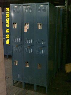 Used Hallowell Half Door Lockers Used Lockers, Door Locker, Half Doors, Personal Storage, Locker Storage