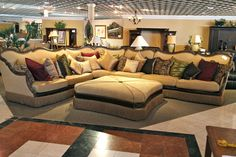Traditional Aico Sofa Sectional - Colleen's Classic Consignment, Las Vegas, NV - https://cccfurnishings.com