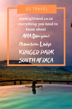 Everything you need to know about Aha Bongani Mountain Lodge, Kruger Park, South Africa Game Lodge, Best Games, Lodges, Need To Know, South Africa, Mountain, Park, Travel, Cabins