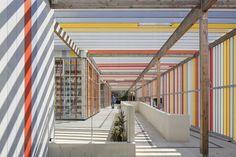 NBJ Architectes · Honore de Balzac Highschool · Divisare