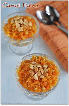 Carrot Halwa / Gajar ka Halwa - Gluten Free, contains diary (milk ...