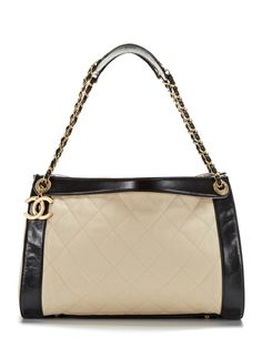 0182971c8377 Light Beige and Black In the Mix Tote Bag Chanel Store
