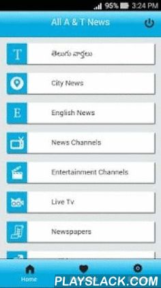 All Andhra Telangana News  Android App - playslack.com , All Andhra Telangana News is an app for all Telugu people to keep up-to-date with the latest news happening in Andhra Pradesh and Telangana, India and also all over the world.App is capable of storing news locally to read the news in offline mode without internet connection.Some of the important features:- App has got all the important news from all the popular newspapers both Telugu and in English languages.- You can read all the…