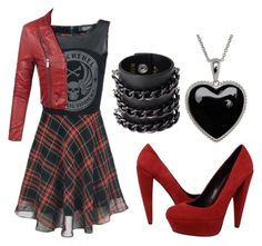 """""""Rock Princess"""" by drpiano on Polyvore featuring Lord & Taylor, Dolce Vita and Mia Bag"""