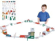 Fisher-Price Thomas the Train TrackMaster Holiday Cargo Delivery Set Just $39.99!