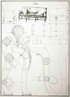 Image result for furniture drawing