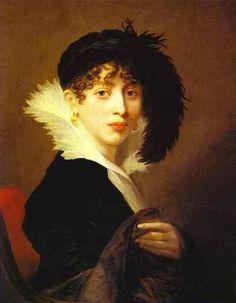 Portrait of Countess Sophia Stroganoff by Jean-Laurent Mosnier, 1808