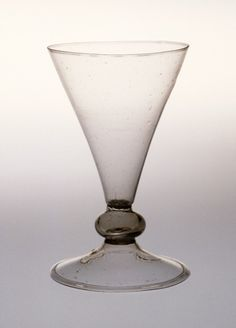Drinking Glass Italy, Venice, circa 1550-1650 Furnishings; Serviceware Glass Height: 7 3/8 in. (18.7 cm); Diameter: 4 1/8 in. (10.5 cm)