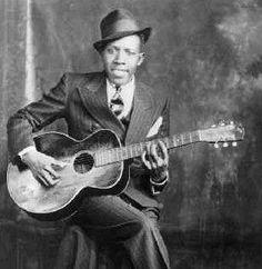 Robert Johnson...the blues guitarist.
