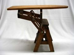 wood ironing and chair | Share on facebook Share on Twitter Share on Pinterest Share on Email