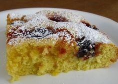 A Quick and Easy Recipe for German Cherry Cake-This recipe for cherry cake (German Kuchen) takes only about an hour from start to finish. Eat it warm or take it to a picnic for the perfect treat.