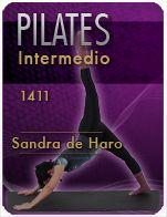 Video Clase PILATES INTERMEDIO CON SANDRA #1411 http://blgs.co/TQ25cv