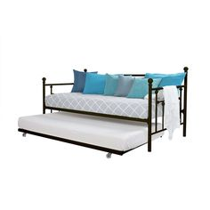 pop up trundle bed why get a daybed charles p rogers bed blog meganu0027s sleep porch ideas pinterest daybed daybed mattress and modern daybed - Daybeds With Pop Up Trundle