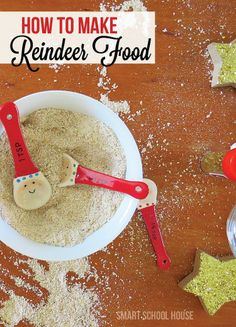 Don't forget about Santa's reindeer this Christmas! They love gifts too, you know. Here is the special recipe for the BEST Reindeer Food! #christmas #DIY #CartersHoliday