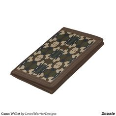 Shop Camo Wallet created by LovedWarriorDesigns. Camo, Wallet, Products, Camouflage, Military Camouflage, Handmade Purses, Diy Wallet, Purses, Gadget