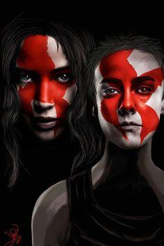 Mockingjay - Katniss and Johanna