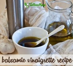 Balsamic Vinaigrette recipe 300x273 Balsamic Vinaigrette Recipe