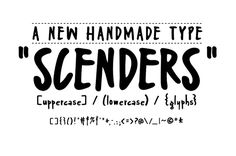 Scenders Free Font