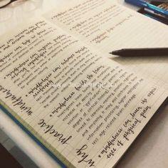 Journaling in bullet journal. 1,5 years into bullet journaling
