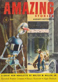 Amazing Stories. Aug. Sept. 1953