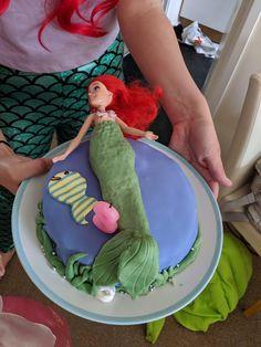 Little Mermaid Doll, Mermaid Dolls, Cakes, Home Decor, Decoration Home, Cake Makers, Room Decor, Kuchen, Cake