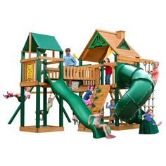 16a9f3976a748 Gorilla Playsets Wilderness Gym Playset - Do It Yourself or Installed