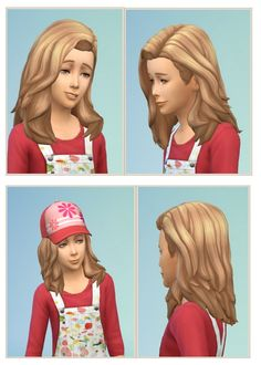 Girls Swinging Hair at Birksches Sims Blog • Sims 4 Updates