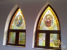 Sikabony Templom Színes Egyházi Ólomüveg Ablak Készítés  