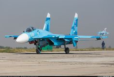 Photo taken at Lipetsk - Air Base / West) in Russia in August, Bomber Plane, Jet Plane, Aircraft Parts, Fighter Aircraft, Military Jets, Military Aircraft, Su27 Flanker, Modern Fighter Jets, Airplane Fighter