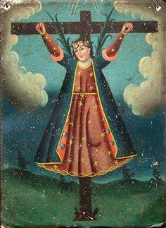Santa Librata - 19th century retablo