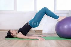 Photo: Girl doing abdominal muscles of her body. Abdominal Muscles, Exercise, Gym, Stock Photos, Image, Ejercicio, Abs, Excercise, Work Outs