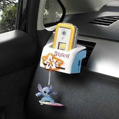 Amazon.com: AC holder Stitch (Lilo & Stitch) Disney Car Accessories (japan import): Toys & Games-EEEEKKKKKK!!! LOVE!