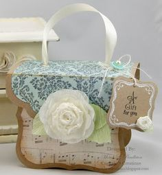 with love...a gift for you box purse...tutorial
