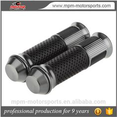 Check out this product on Alibaba.com App:Motorcycle Handle Grips Gray Aluminum Alloy and Rubber https://m.alibaba.com/Zn6jem