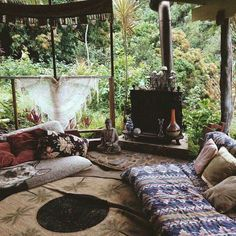 Decorative Rocks Ideas : boho home bohemian life exotic interiors & exteriors eclectic space boho design decor gypsy inspired nontraditional living elements of bohemia Bohemian House, Boho Home, Bohemian Room, Bohemian Style, Bohemian Living, Hippie House Decor, Bohemian Office, French Bohemian, Bohemian Design