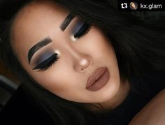 Love this look using prime and base cosmetics