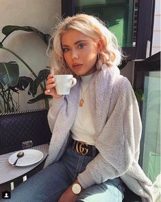 Spring outfits ideas for Cute casual outfits Uni Outfits, Warm Outfits, Winter Fashion Outfits, Fall Winter Outfits, Look Fashion, Autumn Winter Fashion, Trendy Outfits, Womens Fashion, Spring Outfits
