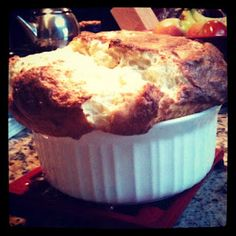 Cheese Souffle from Around My French Table - best recipe ever!