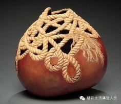惊艳你的双眼-国伦比亚艺术家的葫芦雕刻