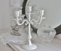 •◇•  Schöner alter Kerzenleuchter  •◇• von Weidenröschen auf DaWanda.com